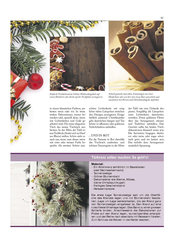 Christbaumkugeln Kariert.Lie Zeit Ausgabe 5 By Medienbüro Oehri Kaiser Ag Issuu