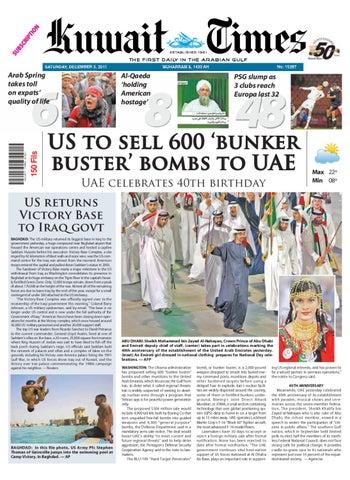 3 Dec 2011 by Kuwait Times - issuu 9b7b2236b5b
