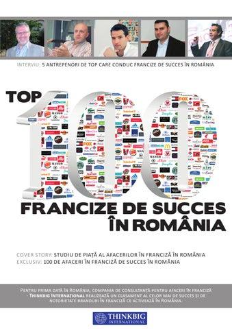 Top 100 Francize de Succes in Romania by ThinkBig International - issuu ff91319ad90b
