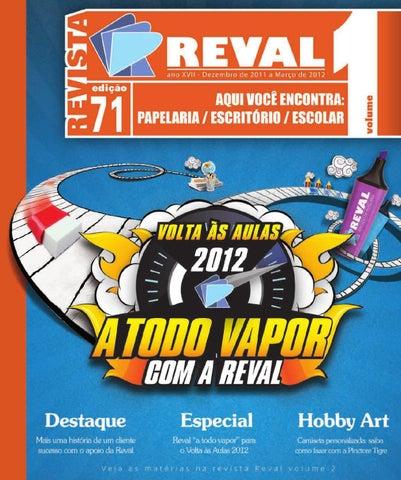 Revista Reval 71 - Volume 1 - 01 by Reval Atacado de Papelaria Ltda ... 4eb0c8d07ce47