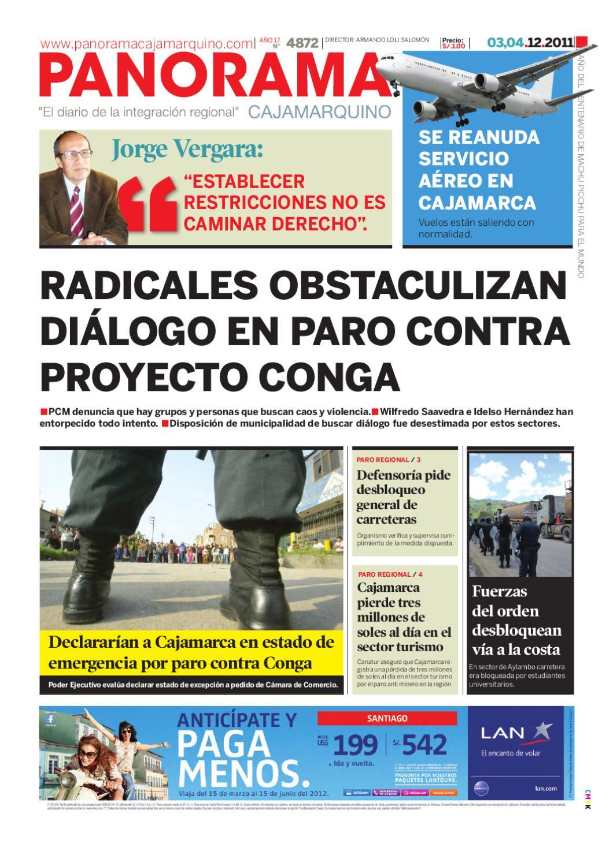 diario-03-12-2011 by Panorama Cajamarquino - issuu