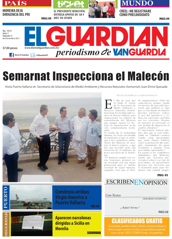 Diario El Guardian 03/12/11 by Cairos Manuel Padron - issuu
