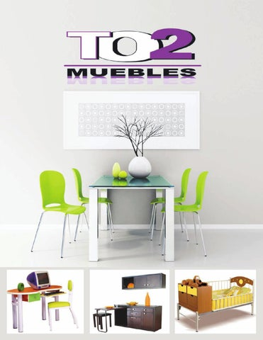 Catálogo by TO2 Muebles - issuu
