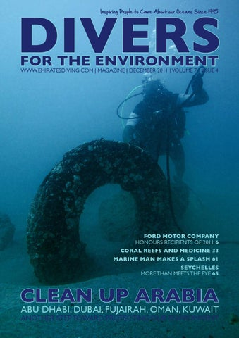 abe49c6795a Divers For The Environment December 2011 by Emirates Diving ...
