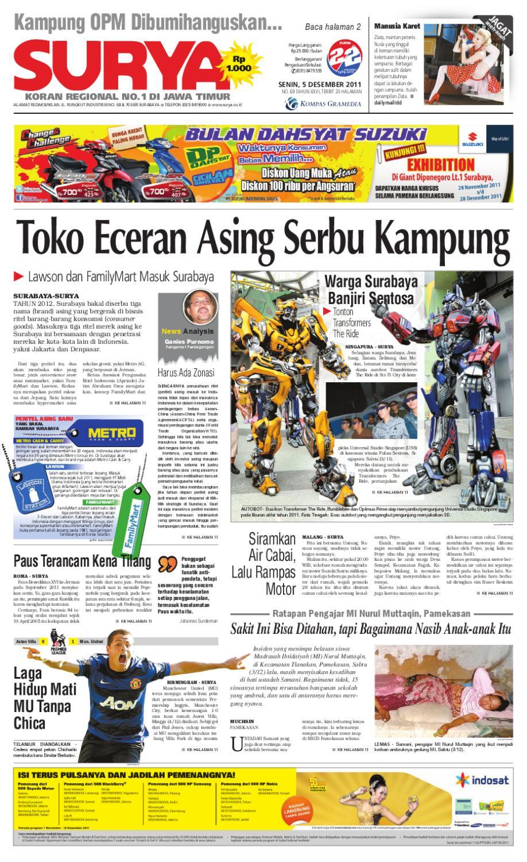 Surya E Paper Edisi 5 Desember 2011 By Harian Issuu Rejeki Anak Soleh 3 Voucher Carrefour Rp 200000