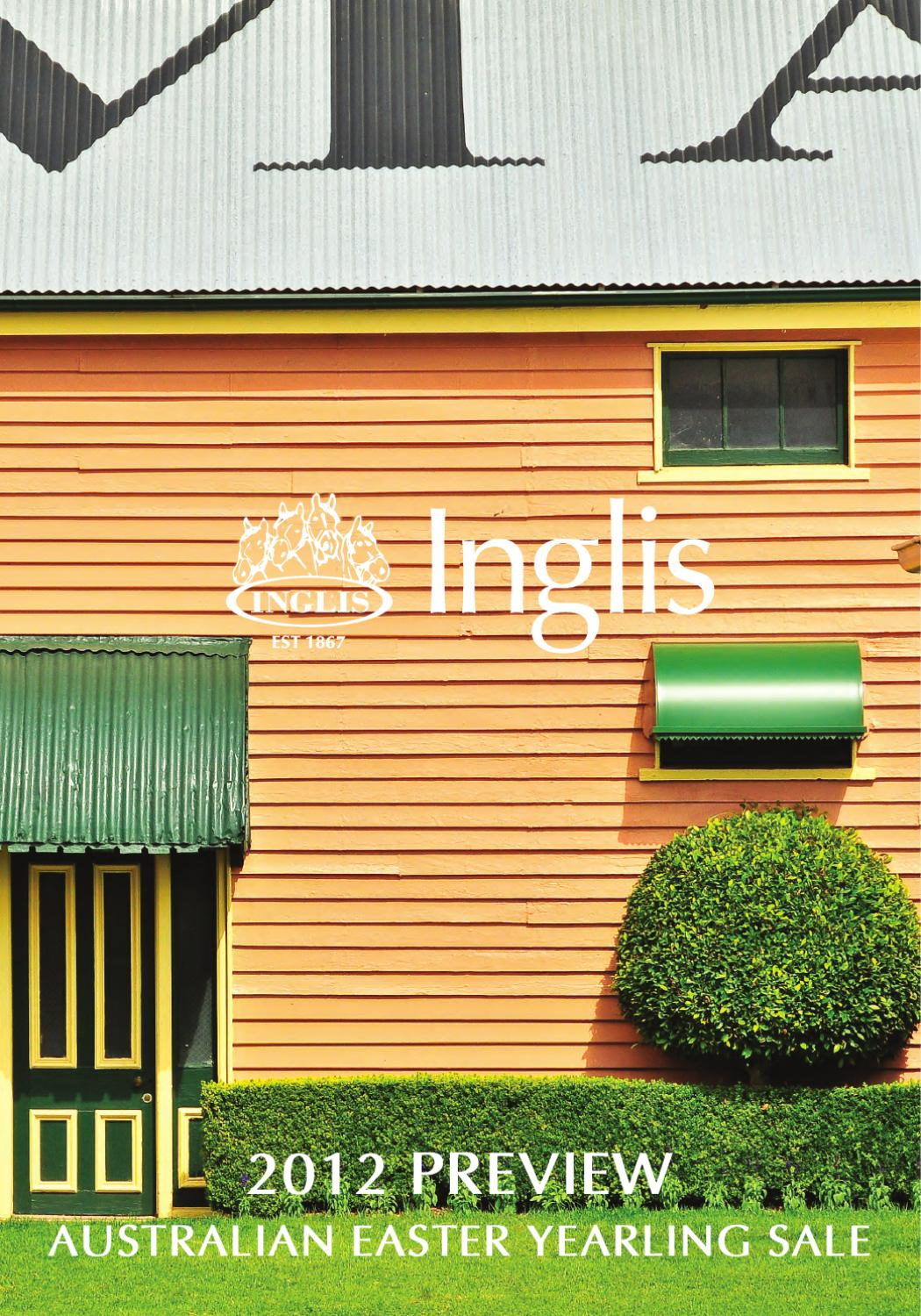 4ac1b03f9 2012 Preview Australian Easter Yearling Sale by Inglis - issuu