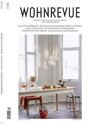 Wohnrevue 12 2011 By Boll Verlag   Issuu