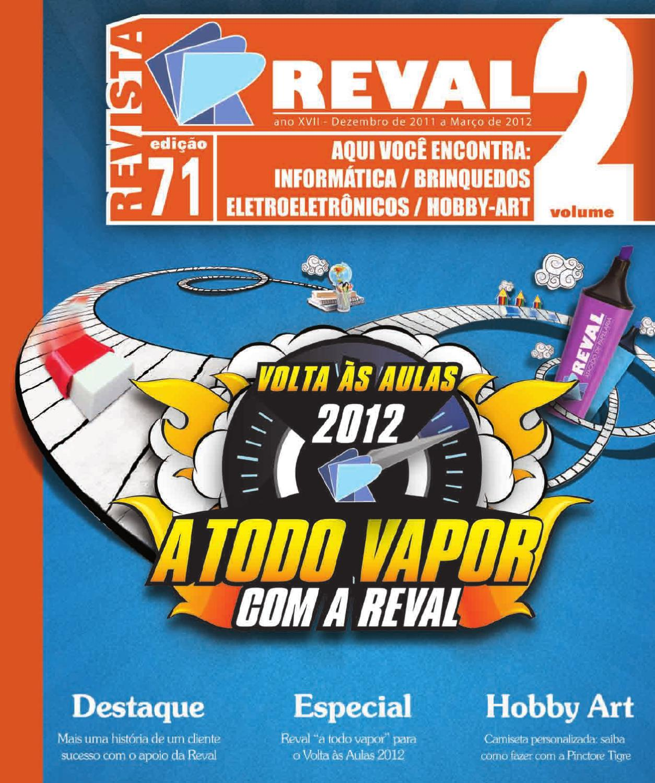 19eec231447 Revista Reval 71 - Volume 2 by Reval Atacado de Papelaria Ltda. - issuu