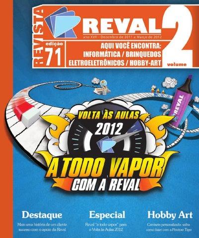 0e77979fb Revista Reval 70 - Volume 2 by Reval Atacado de Papelaria Ltda. - issuu