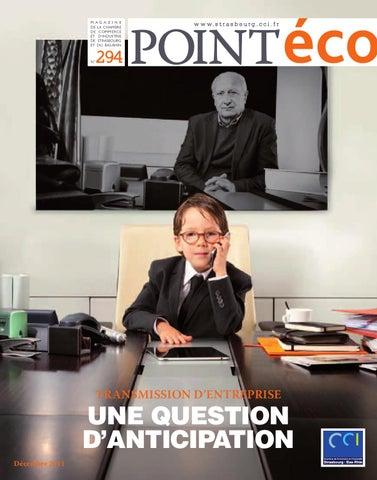 Point eco d cembre 2011 by cci alsace eurom tropole issuu - Chambre de commerce et d industrie strasbourg ...