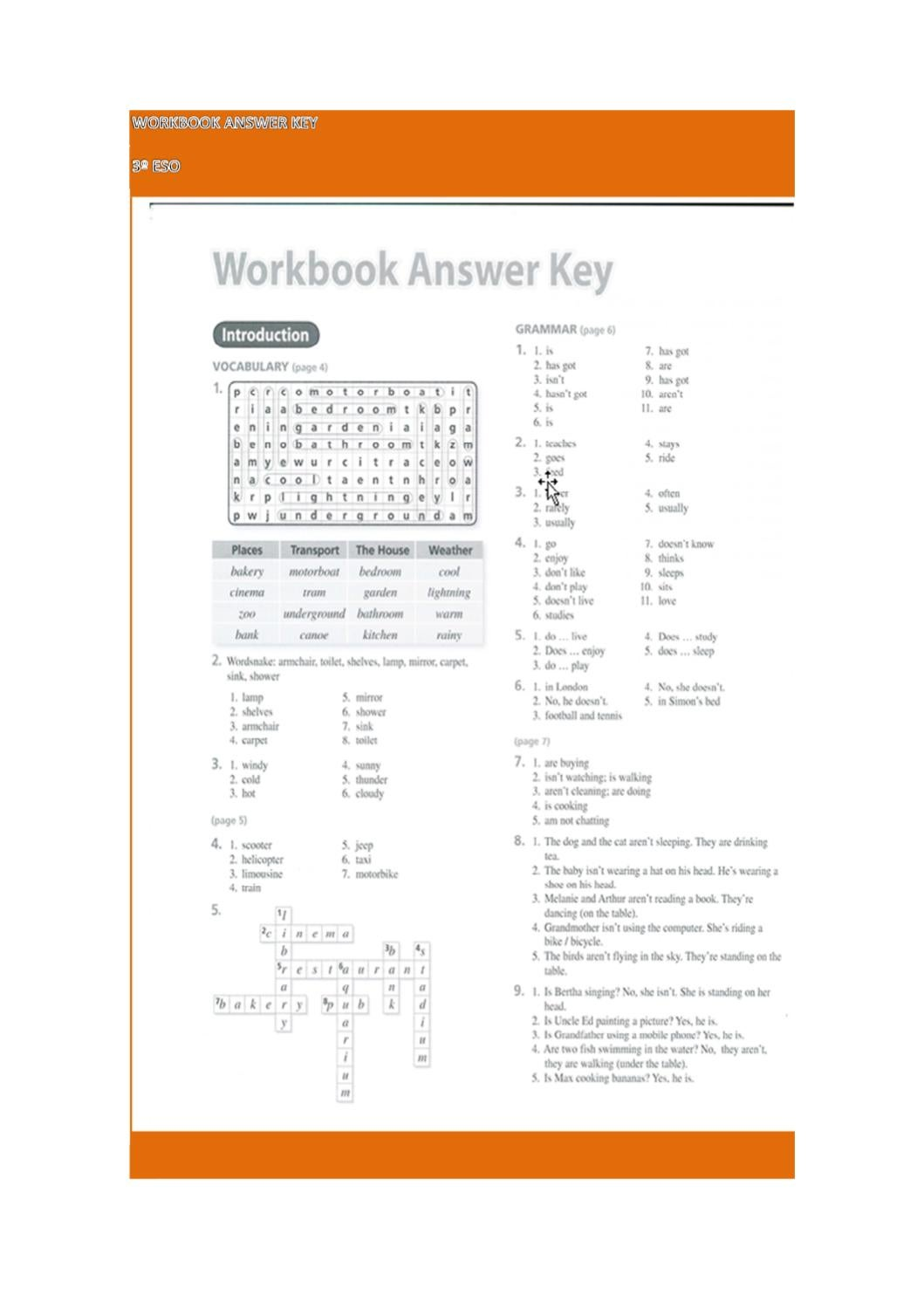 workbook answer key by isa valledor - Issuu