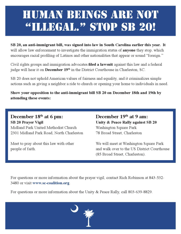 SB20 Vigil and Rally Flyer by E & F Publishing - issuu