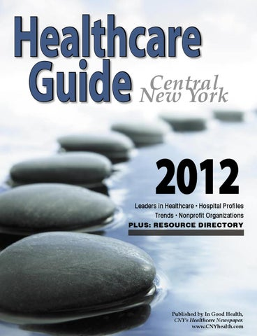 Cny Healthcare Guide 2012 By Wagner Dotto Issuu