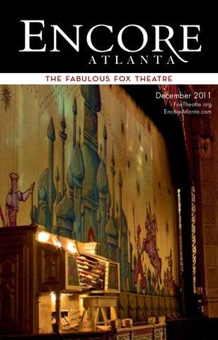 December 2011 Atlanta Ballets The Nutcracker At The Fox Theatre By