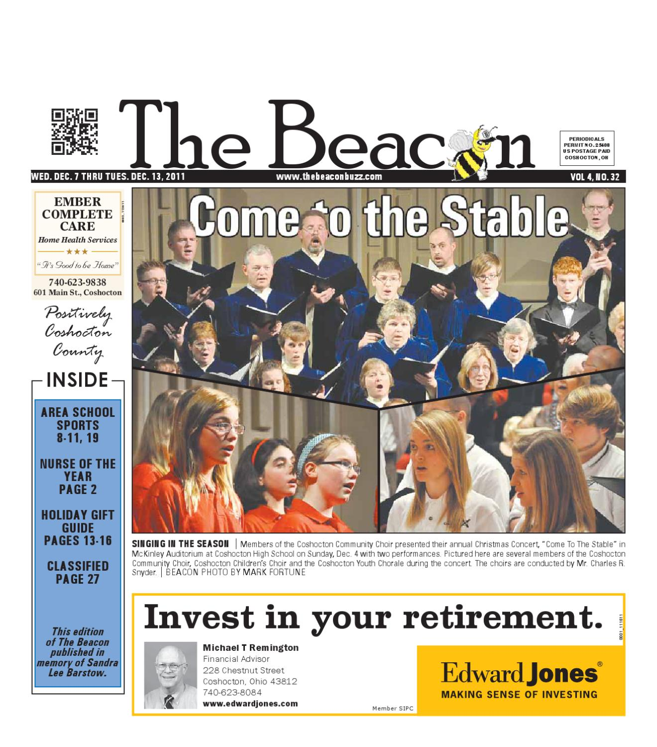 December 07 2011 Coshocton County Beacon By The