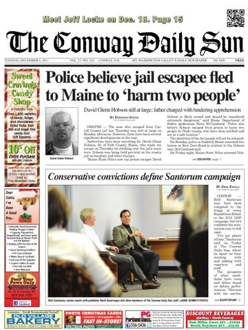 The Conway Daily Sun Tuesday December 6 2011 By Daily Sun Issuu