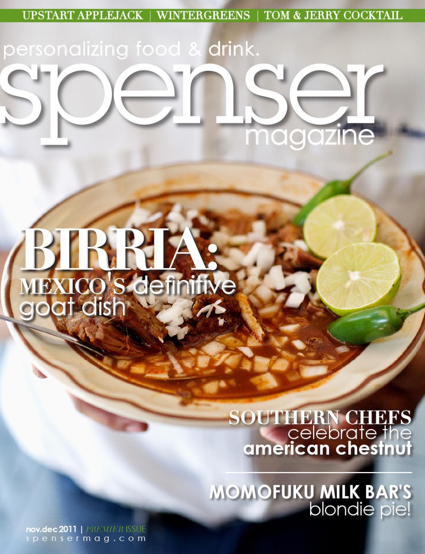 spenser magazine: premier issue
