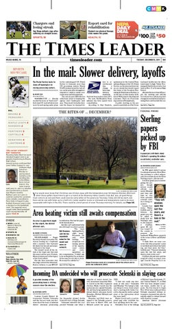 Times Leader 12 06 2011 By The Wilkes Barre Publishing