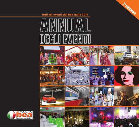Annual Degli Eventi 2011 by ADC Group - issuu 3f696c625f3