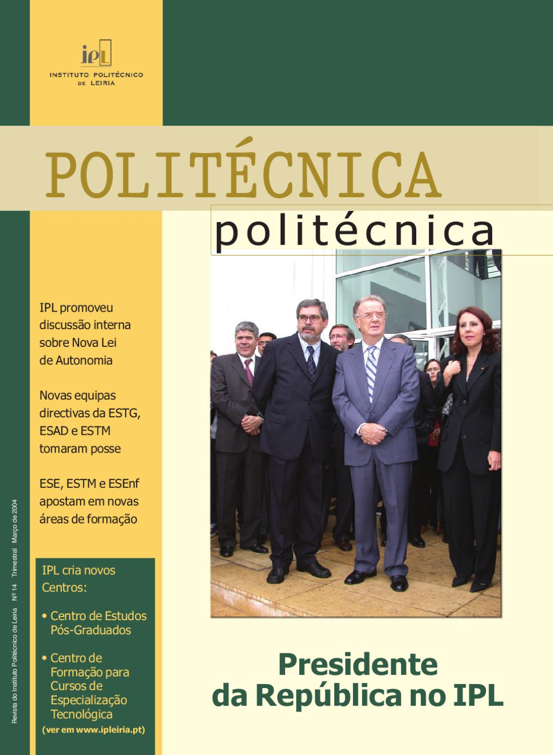 Politécnica n.º 14 by IPLeiria IPL - issuu 37be4b3682262