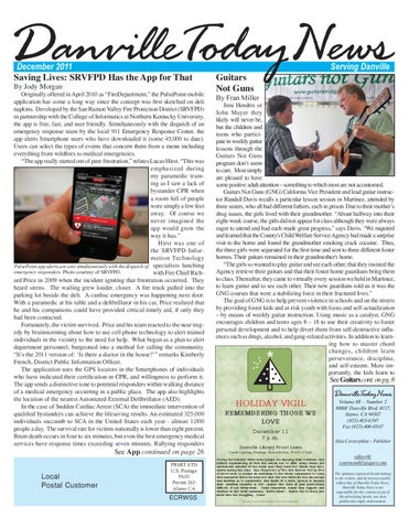 Danville Today News, December 2011 by The Editors, Inc - issuu