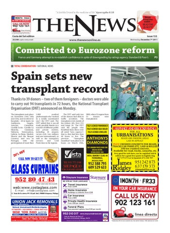 The News Newspaper - Issue 153 by The News Newspaper - issuu