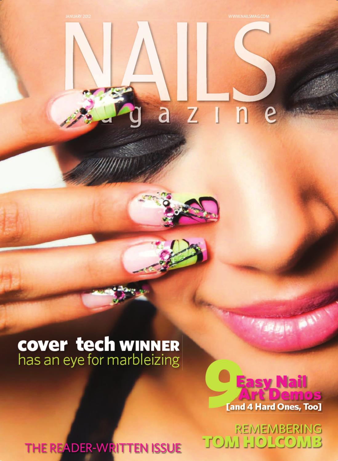 Nails Magazine January 2012 by Bobit Business Media - issuu