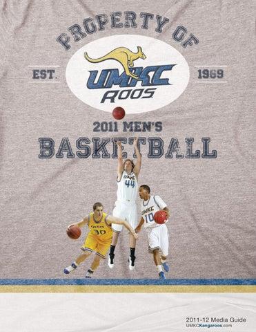 2011 12 UMKC Men's Basketball Media Guide by Nik Busch issuu  free shipping