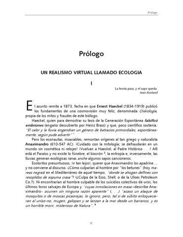 Ecología: mitos y fraudes by Ágora Ambiental - issuu