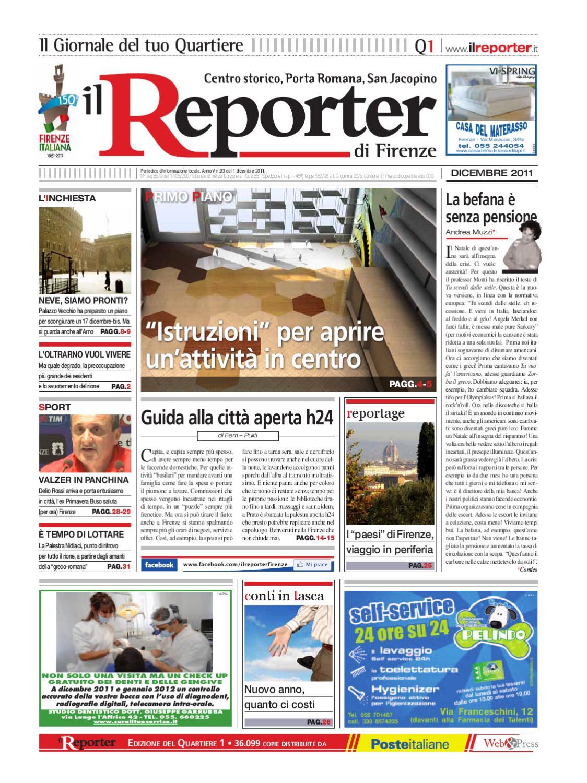 Studio Massaggio Shiro Su Lettino Con Materasso Ad Acqua Calda.Il Reporter Quartiere 1 Dicembre 2011 By Ilreporter Issuu