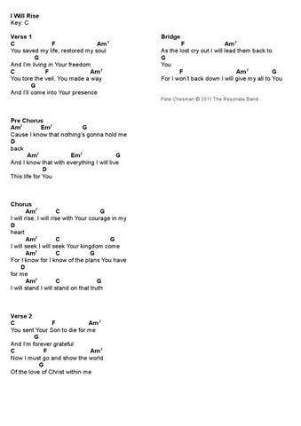 One Name Chord Sheets by Martin O\'Brien - issuu