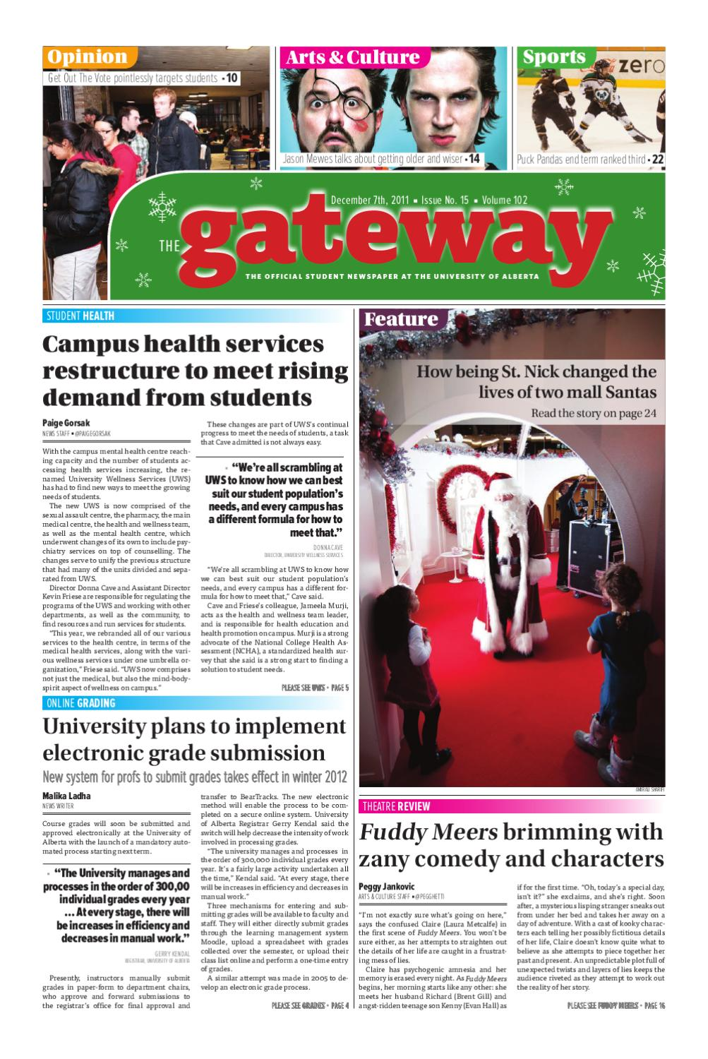 The Gateway: Volume 102, Issue 15 by The Gateway - issuu
