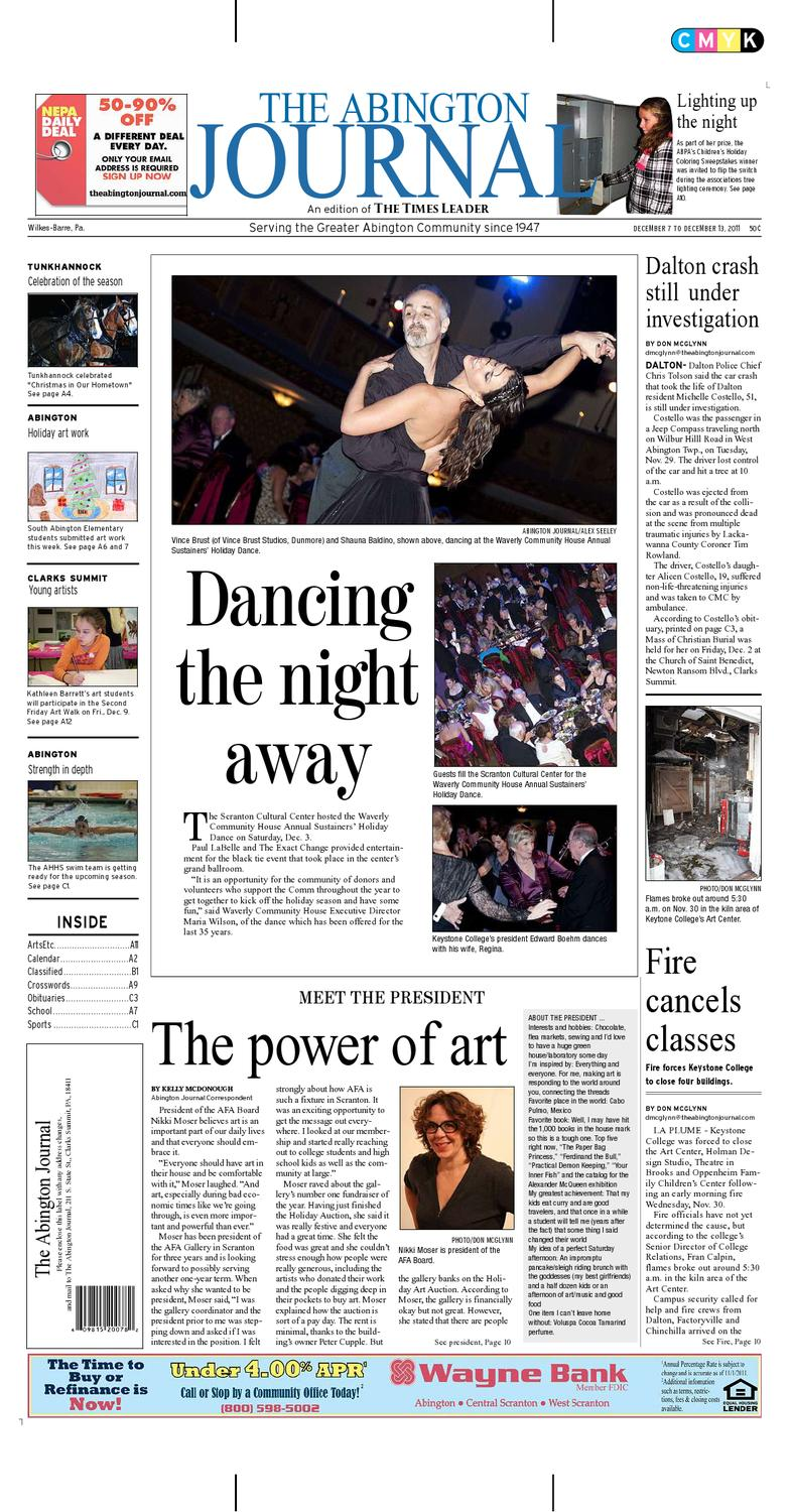 The Abington Journal 12 07 2011 By The Wilkes Barre Publishing