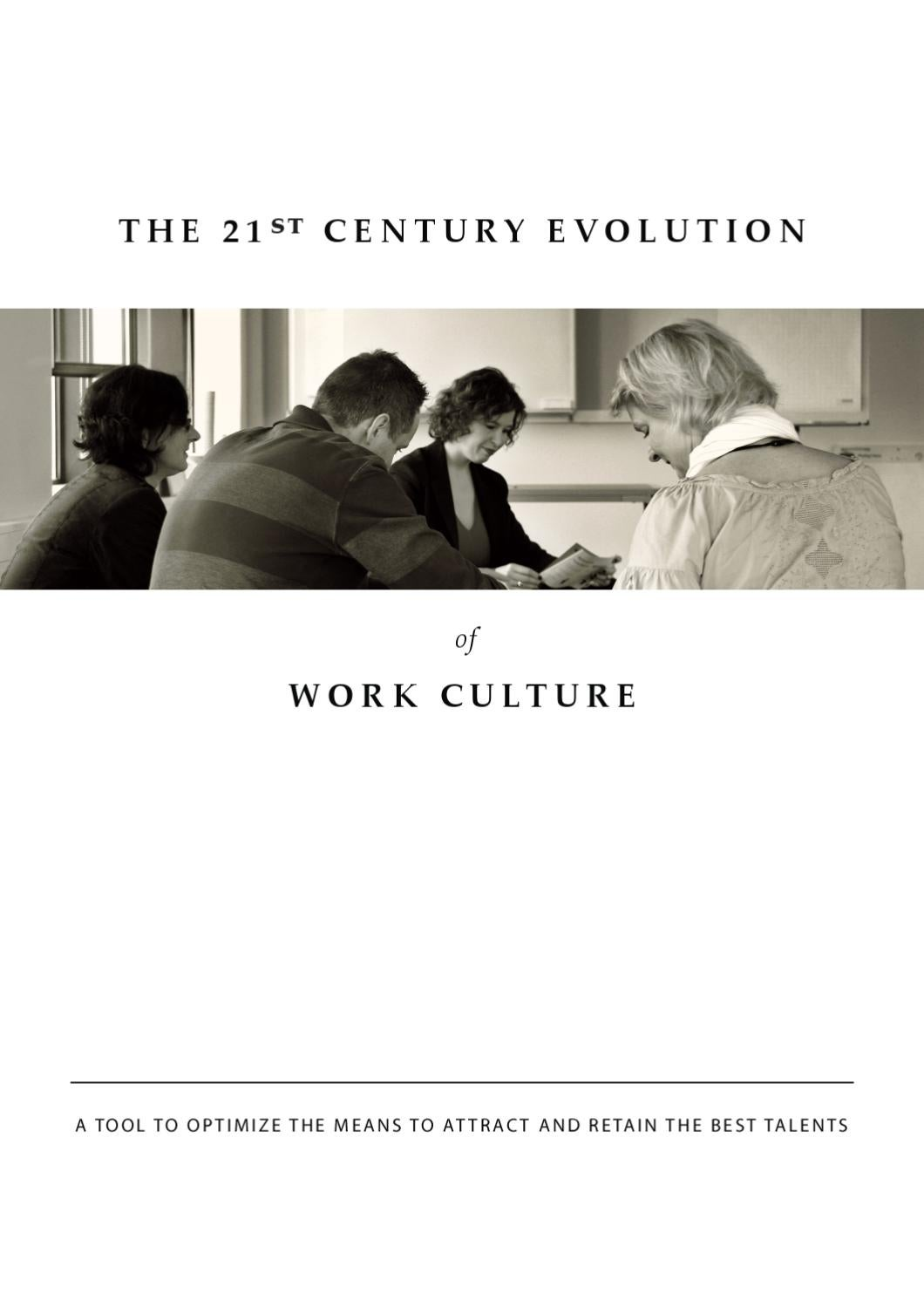 The 21st Century Evolution af Work Culture by Camilla Kring