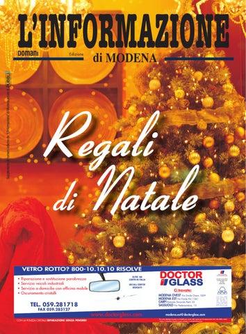 Regali di Natale Modena 2011 by Pubbli7 Pubbli7 - issuu 0ebee5444c2a
