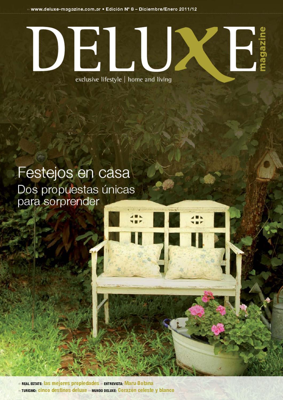 Deluxe Magazine Edici N N 8 Diciembre Enero 2011 12 By Deluxe  # Muebles Keops Pasto