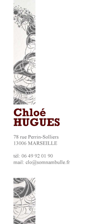 cv  presentation by chlo u00e9 hugues