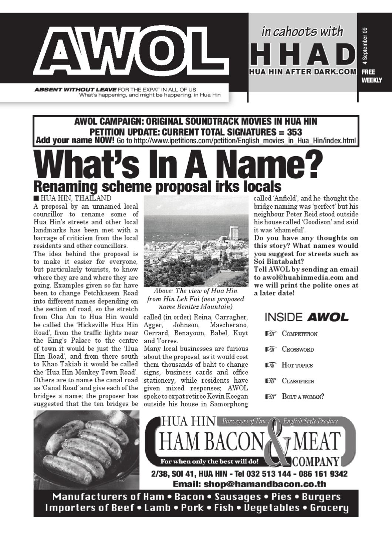 AWOL Issue 47 by AWOL Co  Ltd - issuu