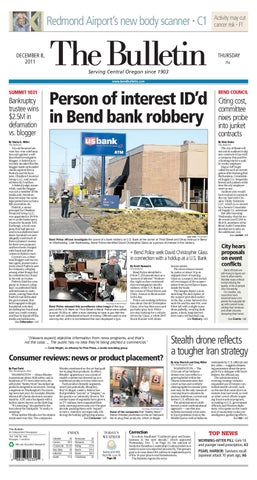 Bulletin Daily Paper 12/8/11 by Western Communications, Inc