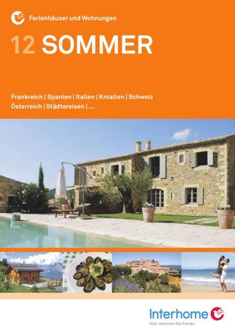Interhome - Sommer Katalog 2012 by Interhome AG - issuu
