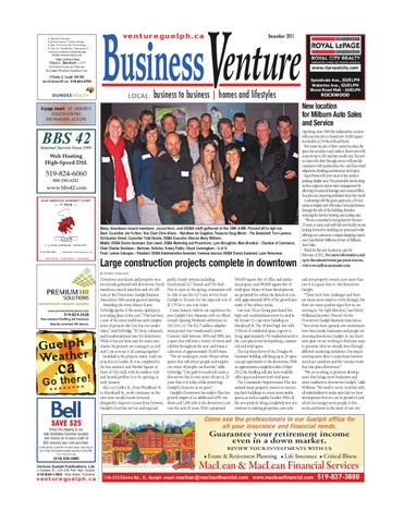 Guelph Auto Mall >> Business Venture - December 2011 by ventureguelph - Issuu