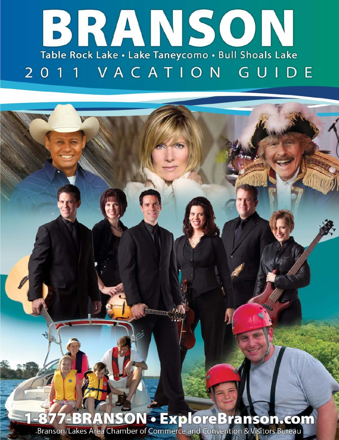 2011 Branson Vacation Guide And Travel Planner By Branson