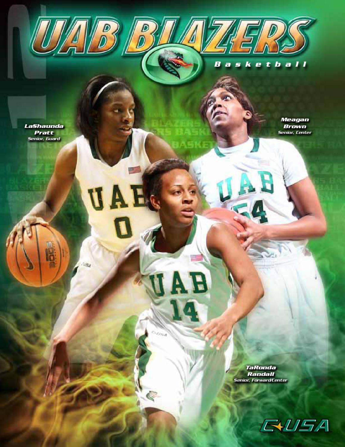size 40 0d1e5 9f33d 2011-12 UAB Women's Basketball Information Guide by UAB ...
