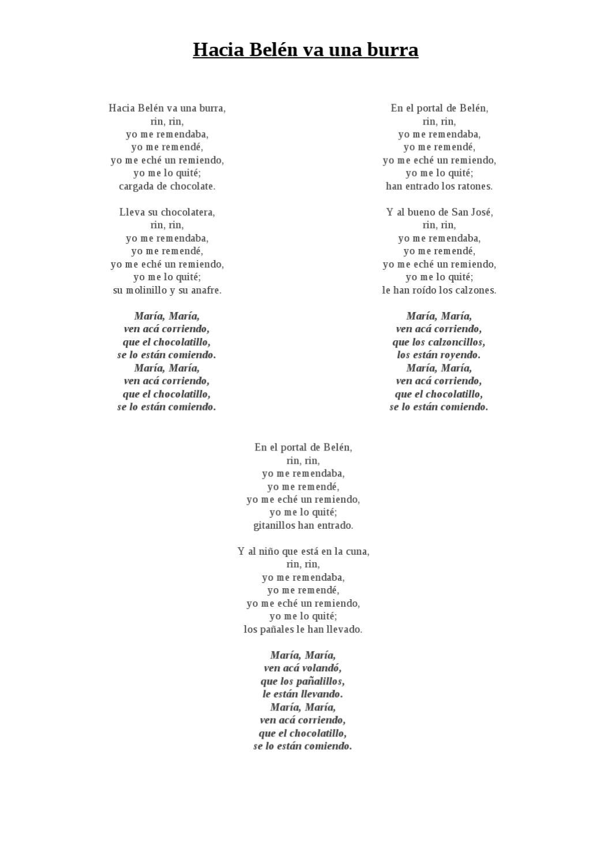 Letras De Villancicos 2011 12 By Balbina Ruiz Acevedo Issuu