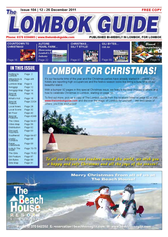 The Lombok Guide Issue 104 by The Lombok Guide - issuu