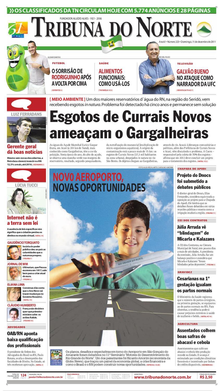 1f945f982fd9 Tribuna do Norte - 11/12/2011 by Empresa Jornalística Tribuna do Norte Ltda  - issuu