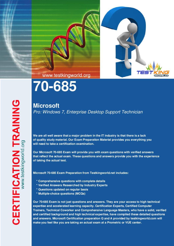 Download Pro Windows 7 Enterprise Desktop Support Technician By