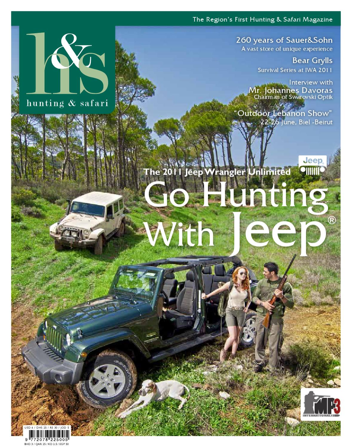 Hunting nad Safari Magazine - Issue no 5 by Amed - issuu