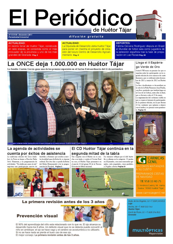 El Periodico De Huetor Tajar Diciembre 2011 By Radio Hu Tor T Jar  # Muebles Baena Huetor Tajar