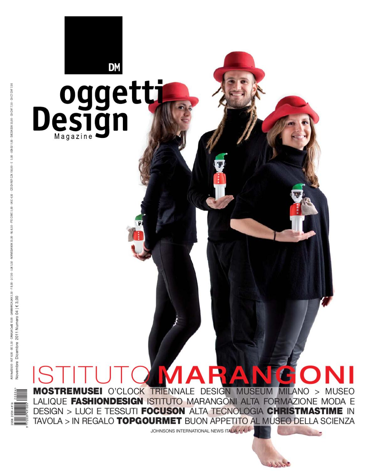 Dm oggetti design magazine by johnson web srl for Oggetti design regalo